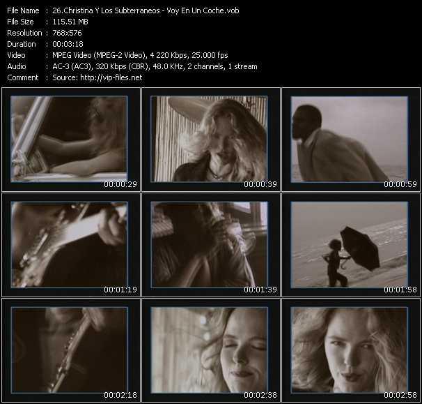 video Voy En Un Coche screen