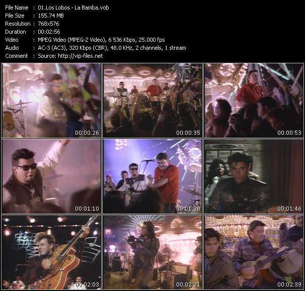 Los Lobos video screenshot