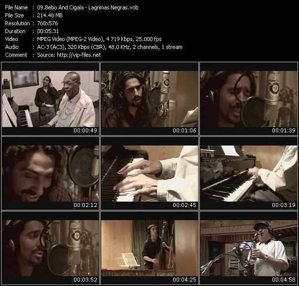 Bebo And Cigala video screenshot