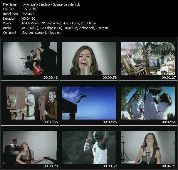 Amparo Sandino video screenshot