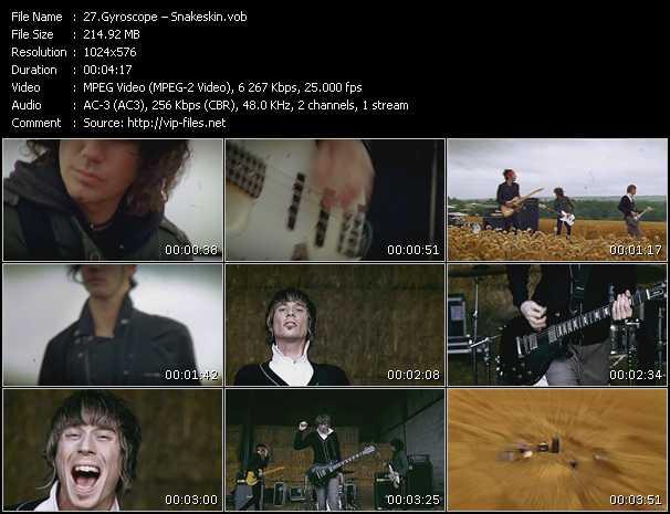 Gyroscope video screenshot