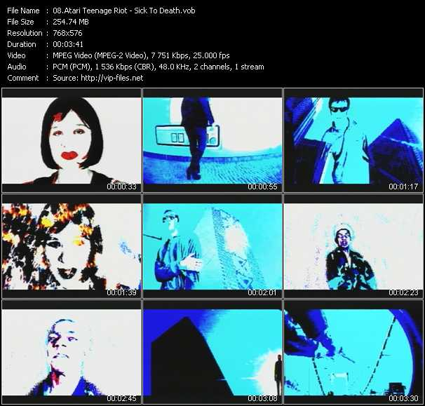 Atari Teenage Riot video screenshot