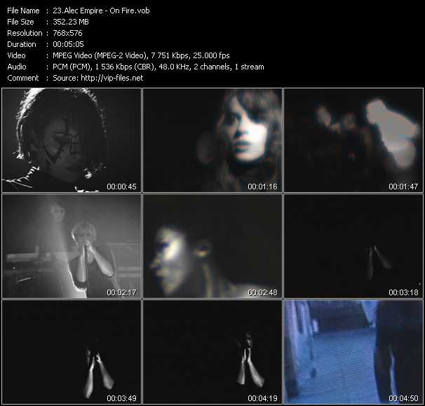 Alec Empire video screenshot