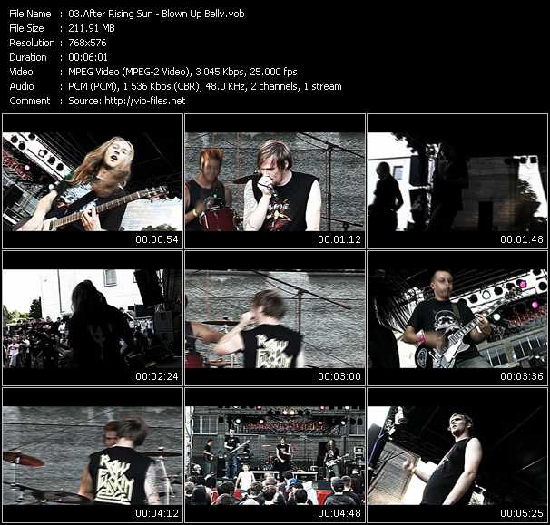 After Rising Sun video screenshot