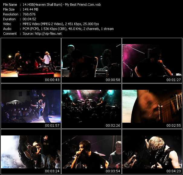 HSB (Heaven Shall Burn) video screenshot