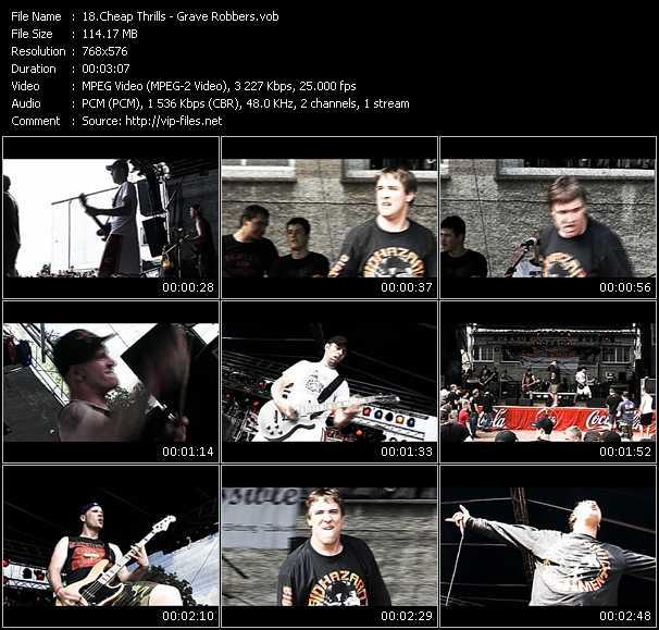 Cheap Thrills video screenshot