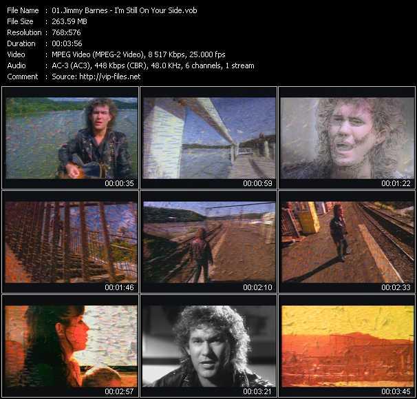 Jimmy Barnes video screenshot