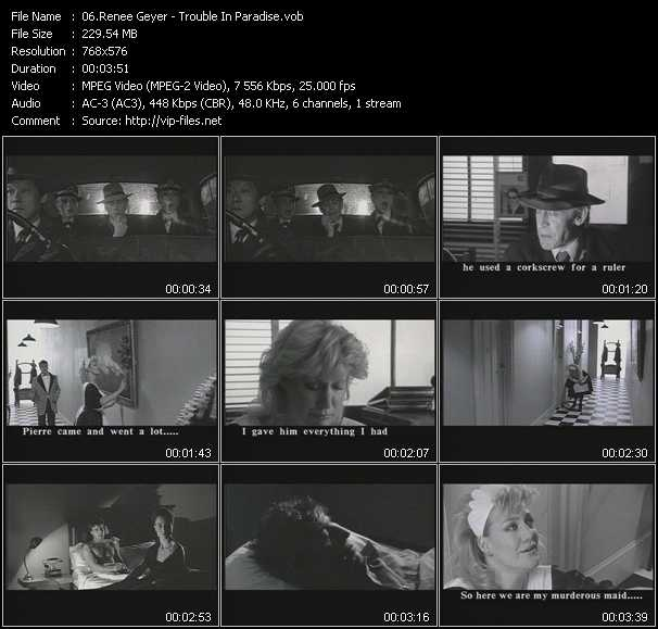 Renee Geyer video screenshot