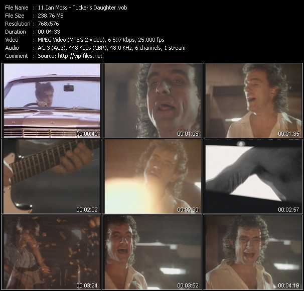 Ian Moss video screenshot