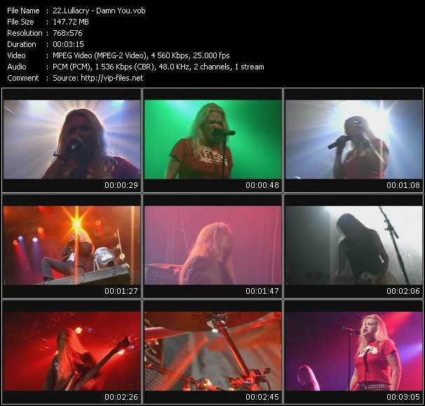 Lullacry video screenshot