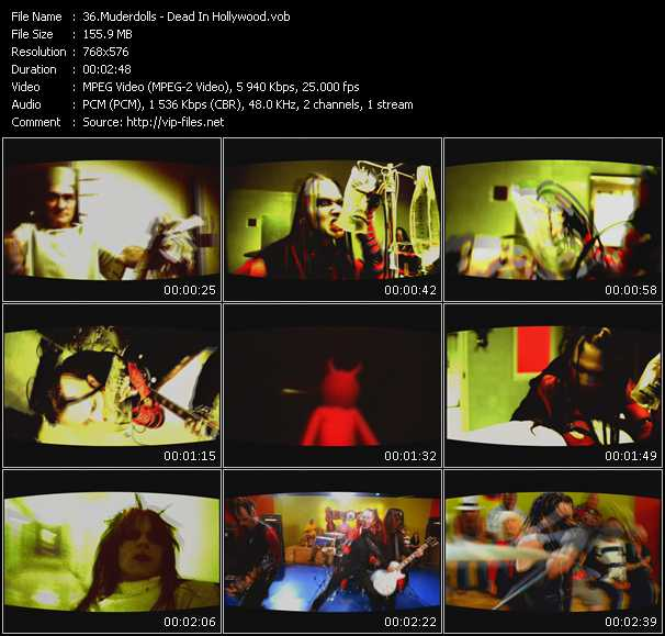 Muderdolls video screenshot