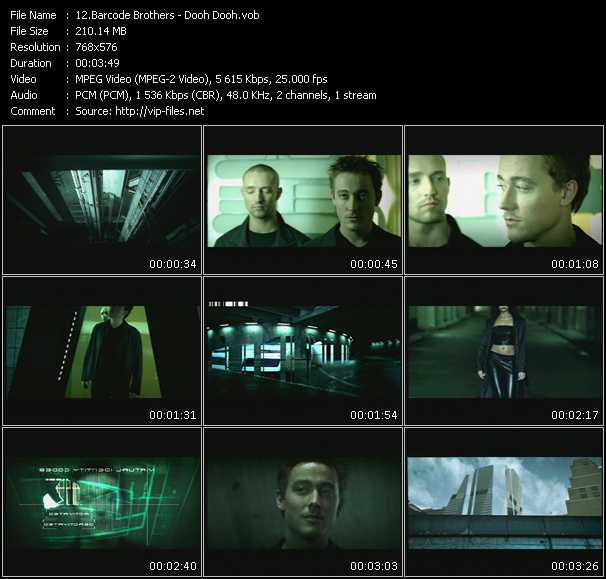 Barcode Brothers video screenshot