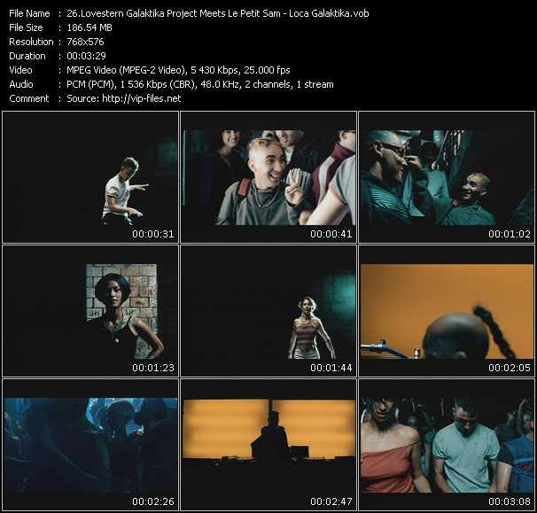 Lovestern Galaktika Project Meets Le Petit Sam video screenshot