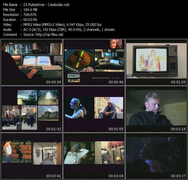 Pulsedriver video screenshot