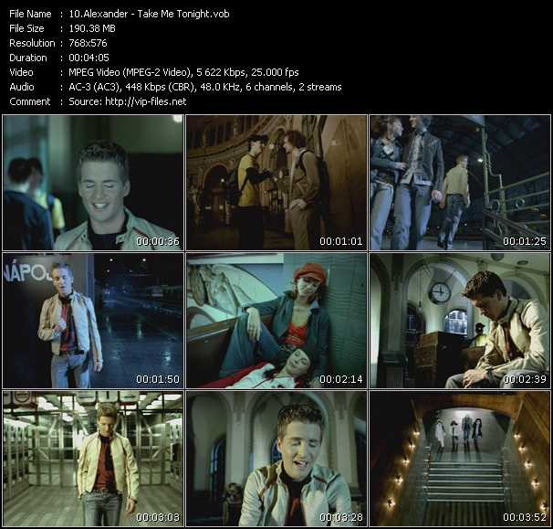 Alexander video screenshot