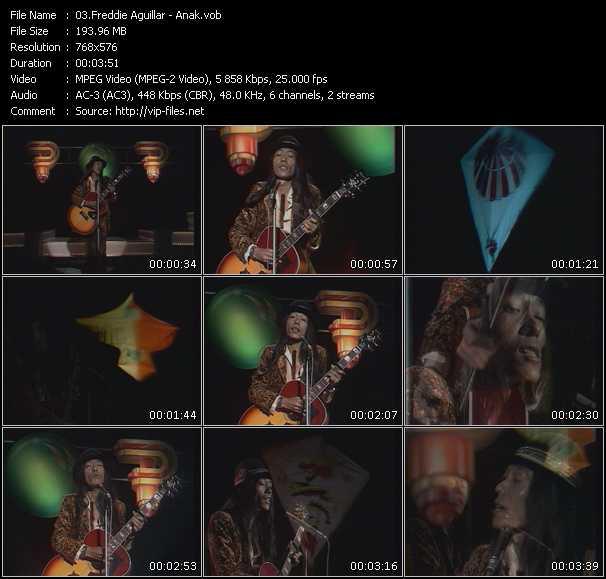 Freddie Aguilar video screenshot