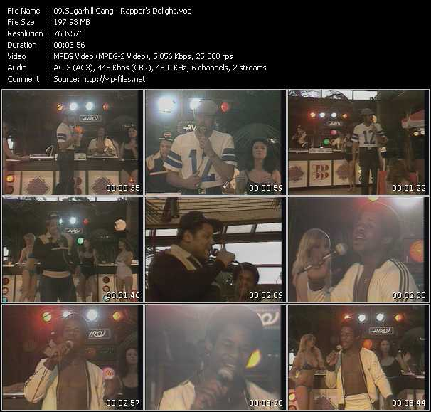 Sugarhill Gang video screenshot