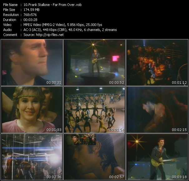 Frank Stallone video screenshot