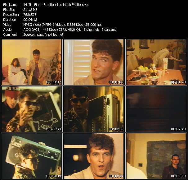 Tim Finn video screenshot