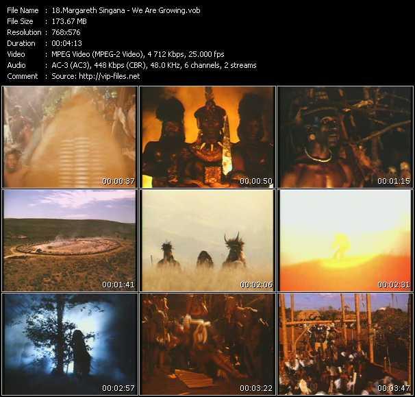 Margareth Singana video screenshot