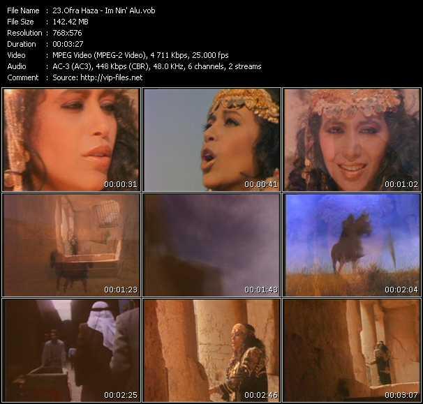 Ofra Haza video screenshot