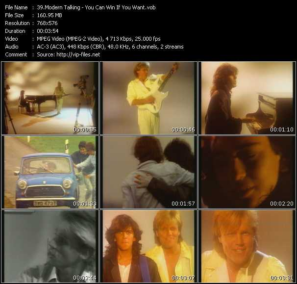 Modern Talking video screenshot