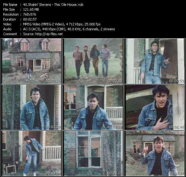 Shakin' Stevens video screenshot
