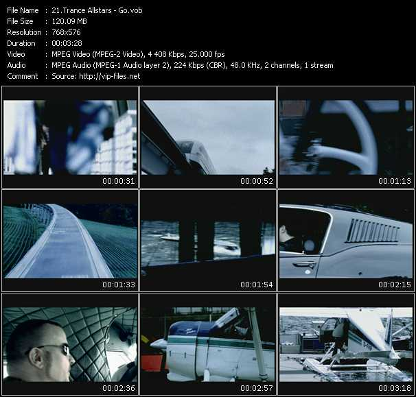 Trance Allstars video screenshot