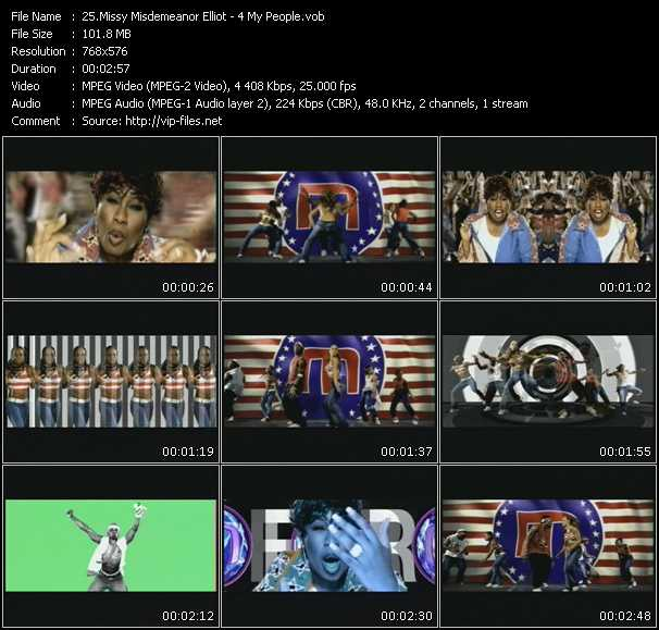 Missy Elliott video screenshot