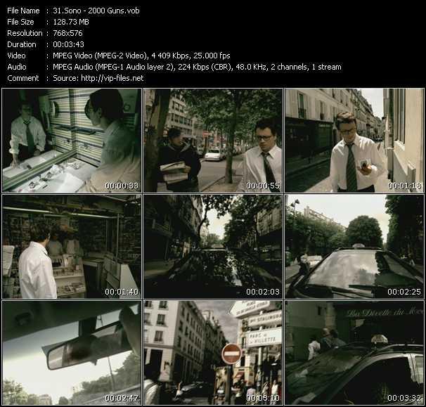 Sono video screenshot