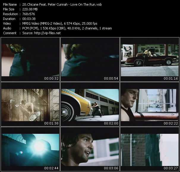Chicane Feat. Peter Cunnah video screenshot