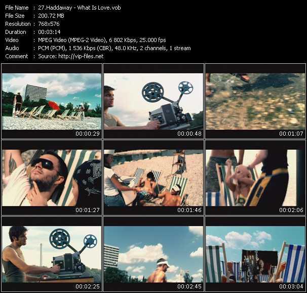 Haddaway video screenshot