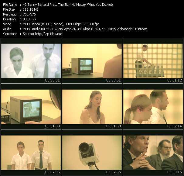Benny Benassi Pres. The Biz video screenshot