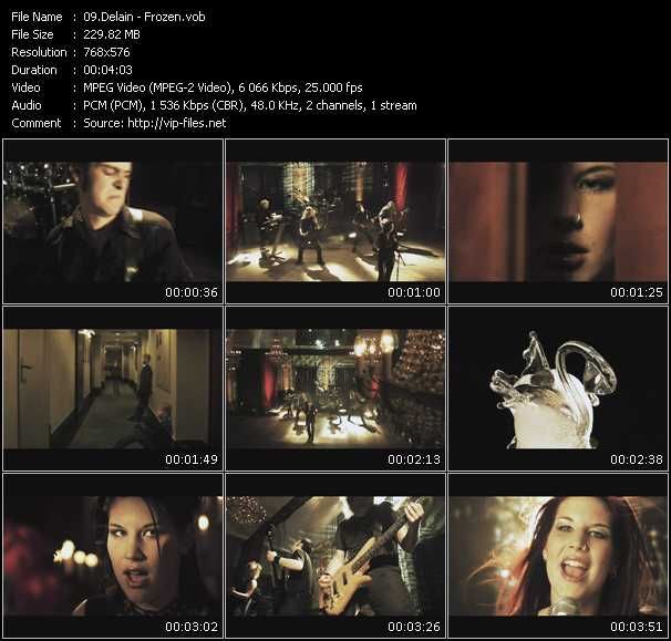 Delain video screenshot