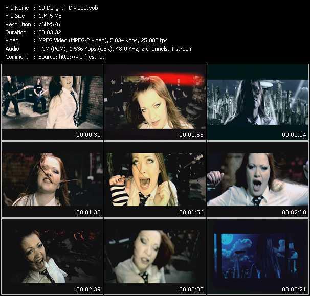 Delight video screenshot