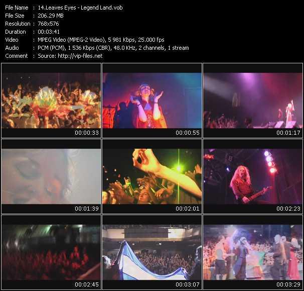 Leaves' Eyes video screenshot