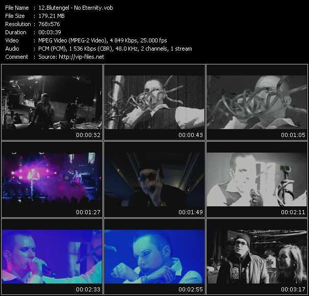 Blutengel video screenshot