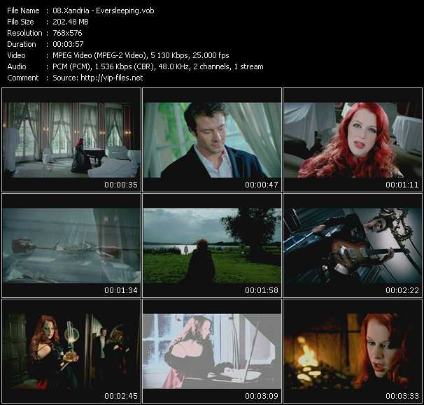 Xandria video screenshot