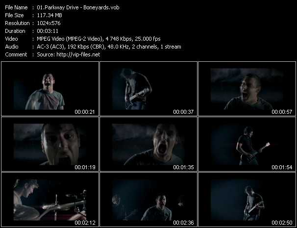 Parkway Drive video screenshot