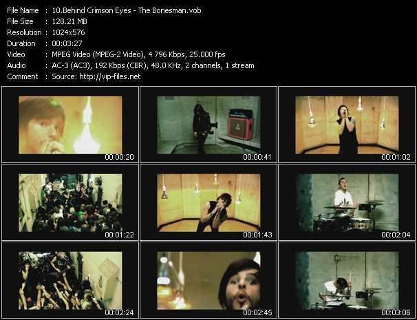 Behind Crimson Eyes video screenshot