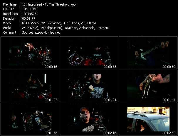Hatebreed video screenshot