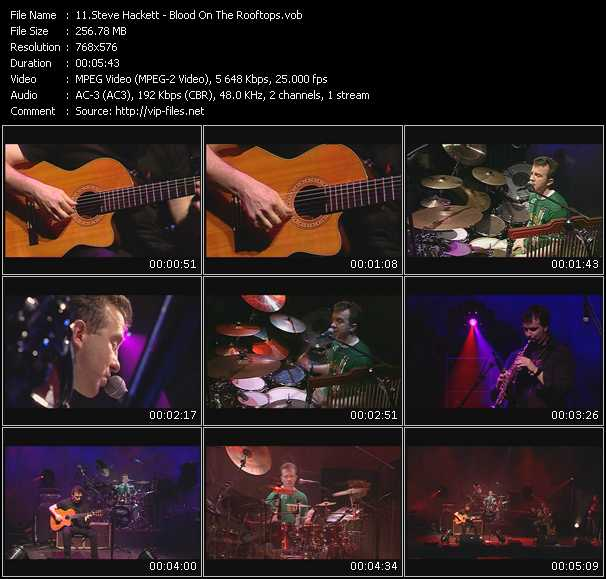 Steve Hackett video screenshot