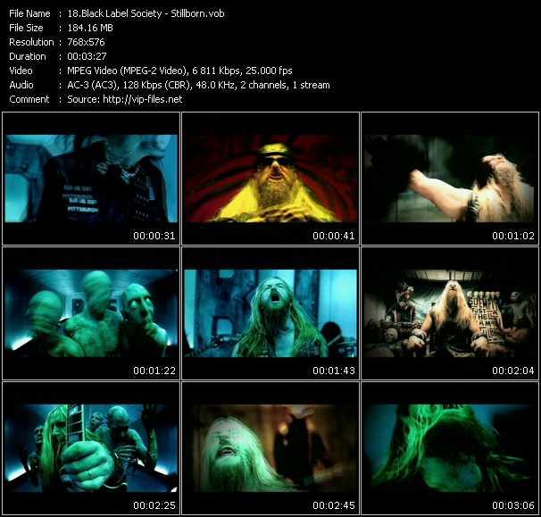 Black Label Society video screenshot
