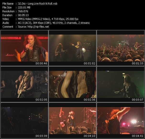 video Long Live Rock N Roll screen