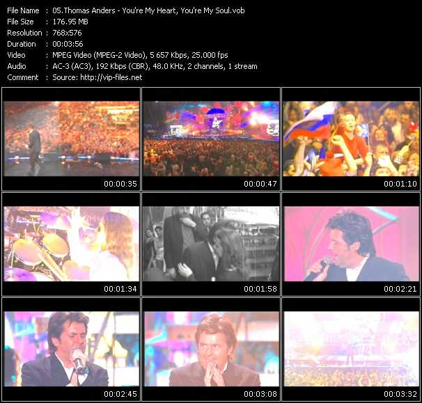 Thomas Anders video screenshot