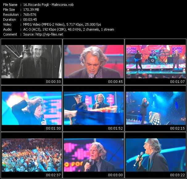 Riccardo Fogli video screenshot
