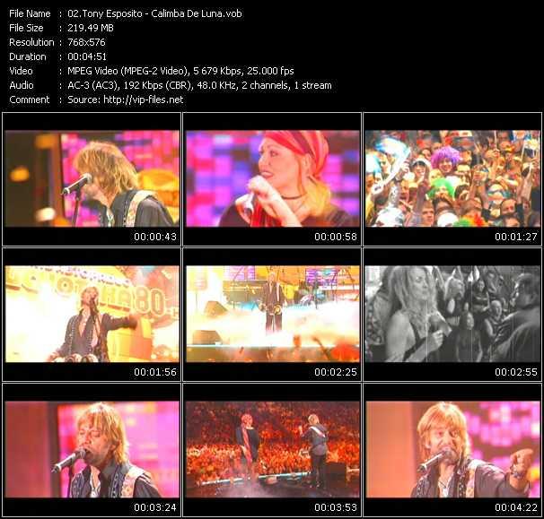 Tony Esposito video screenshot