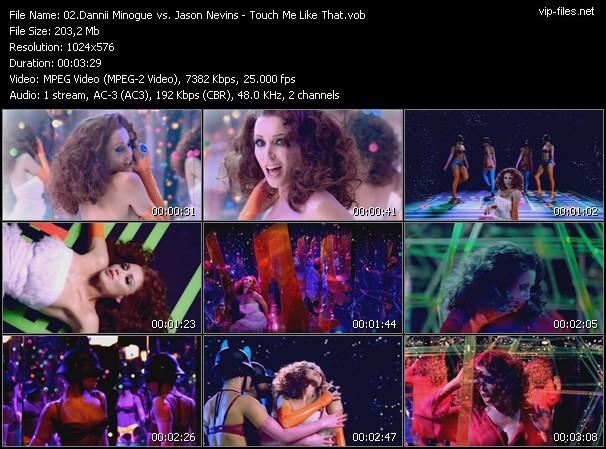 Dannii Minogue Vs. Jason Nevins video screenshot