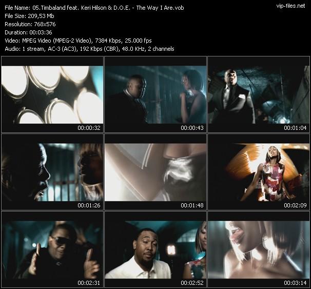 Timbaland Feat. Keri Hilson And D.O.E. video screenshot