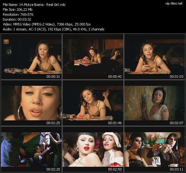 Mutya Buena video screenshot